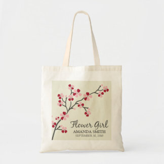 Flower Girl Wedding Party Gift Bag (red)