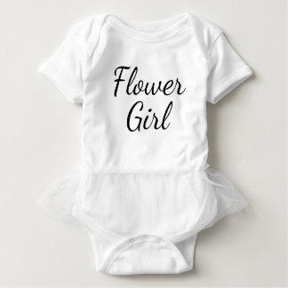 """Flower Girl"" White with Tutu Ruffle Casual Dress"