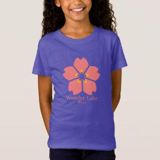 Flower Girls' Fine Jersey T-Shirt