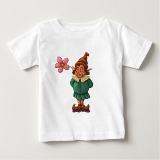 flower gnome infant t-shirt