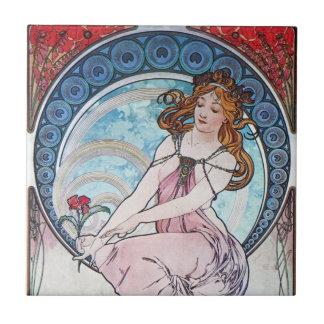 Flower Goddess Ceramic Tiles