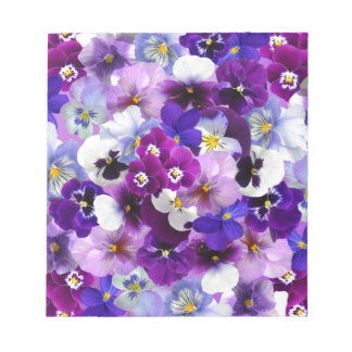 Flower Graphic Notepad