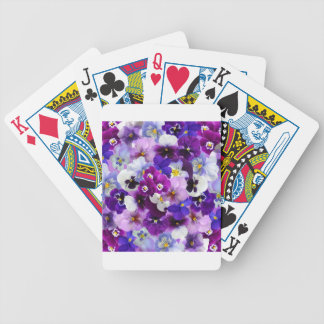Flower Graphic Poker Deck