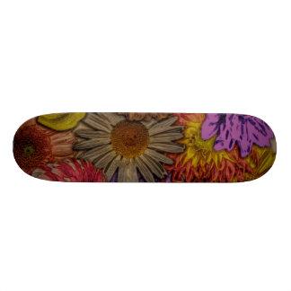 flower greetings vintage look skate decks