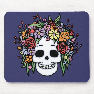 Flower Head Mouse Pad