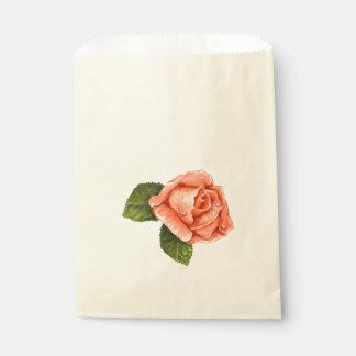 FLOWER HEART CARTOON  bag Ecru Favor
