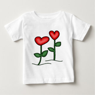 Flower Hearts T-shirts and Gifts