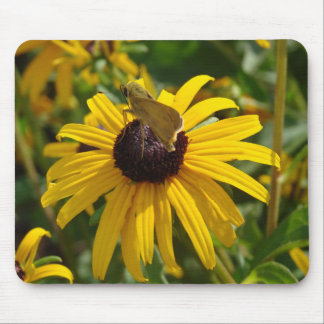 Flower Hopping Mouse Pad