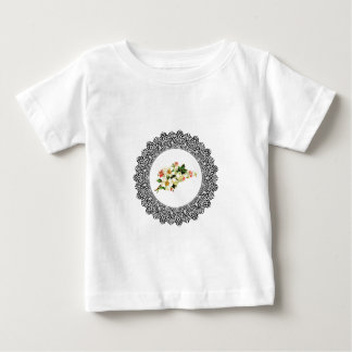 flower in a ring of art baby T-Shirt