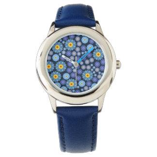Flower in Blue Watch
