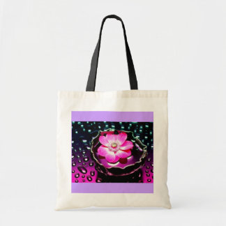 Flower in Cup of Water Budget Tote Bag