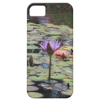 Flower in lily pads iPhone 5 cover