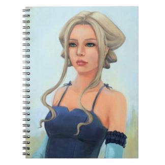 """Flower in the Garden"" Notebook ver. 2"