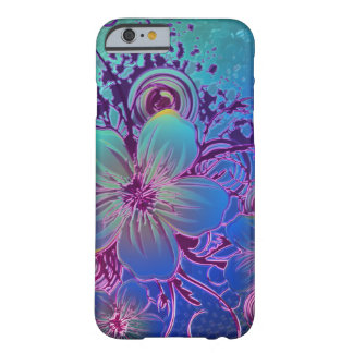 flower-in-tone-of-blue barely there iPhone 6 case