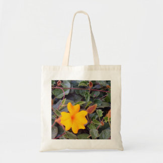 Flower in Yellow Bag
