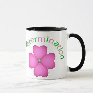 Flower Inspirational Determination Mug