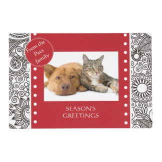 Flower Jungle Christmas set - Stationery and Gifts Placemat