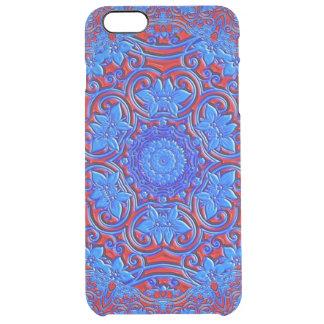 Flower Kaleidoscope Clear iPhone 6 Plus Case