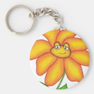 Flower Key Ring