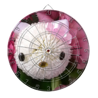 Flower Kitty Dartboard
