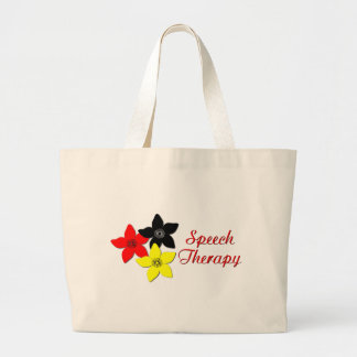 flower large tote bags
