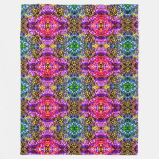 Flower Life 13 Fleece Blanket