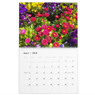 Flower Love Calendar No. 6