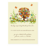 Flower Love Tree Response and Website Cards Pack Of Chubby Business Cards
