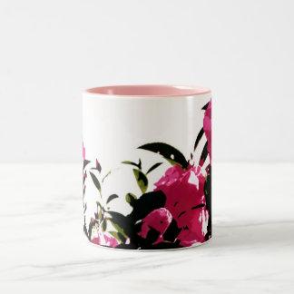 Flower Mag Two-Tone Mug