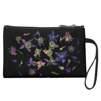 Flower Magic Sueded Mini Clutch