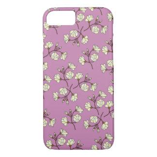 Flower Magnolia(Pink) iPhone case