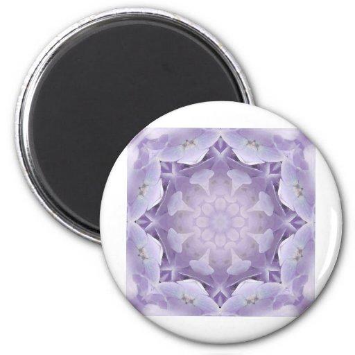 Flower Mandala 34 Refrigerator Magnet