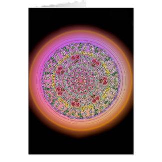 Flower Mandala - Blank Inside Card