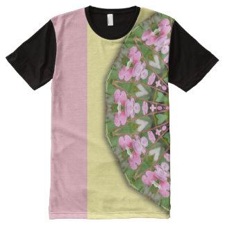 Flower Mandala, Bleeding heart 02.2 All-Over Print T-Shirt
