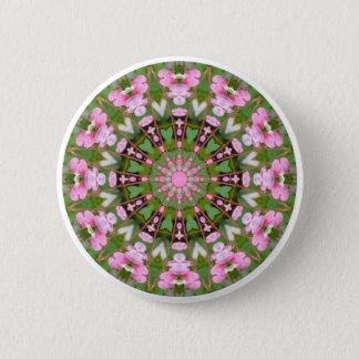 Flower Mandala, Bleeding Hearts 02.0_rd 6 Cm Round Badge