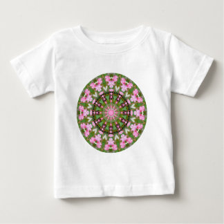 Flower Mandala, Bleeding Hearts 02.0_rd Baby T-Shirt