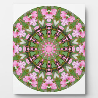 Flower Mandala, Bleeding Hearts 02.0_rd Photo Plaque