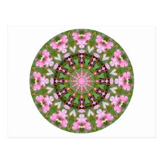 Flower Mandala, Bleeding Hearts 02.0_rd Postcard
