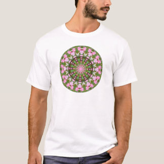 Flower Mandala, Bleeding Hearts 02.0_rd T-Shirt