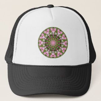 Flower Mandala, Bleeding Hearts 02.0_rd Trucker Hat