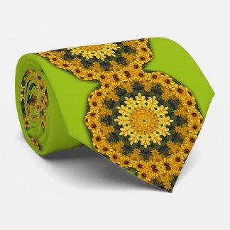 Flower-Mandala, Brown Eye Susans 02.2 Tie