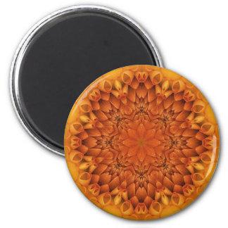 Flower mandala magnets