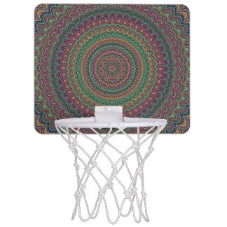 Flower mandala mini basketball hoop