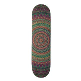 Flower mandala skate board decks