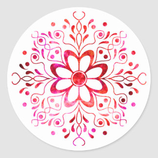 Flower Mandala Stickers