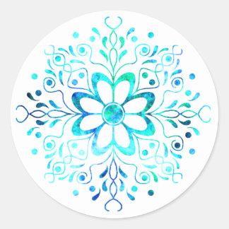 Flower Mandala Stickers