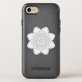 Flower Mandala. Vintage decorative elements. OtterBox Symmetry iPhone 8/7 Case