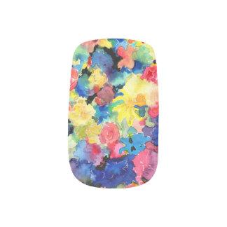 Flower Market Abstract Minx Nail Art Decals