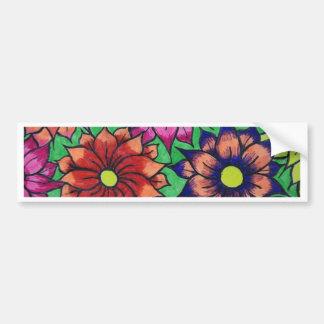 flower mass bumper sticker