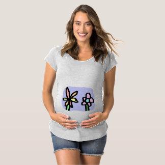 flower maternity t-shirt
